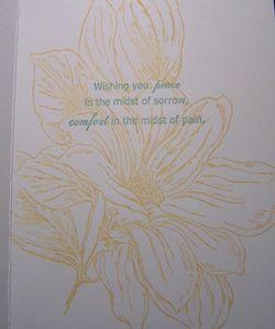 WMSympathy card, inside