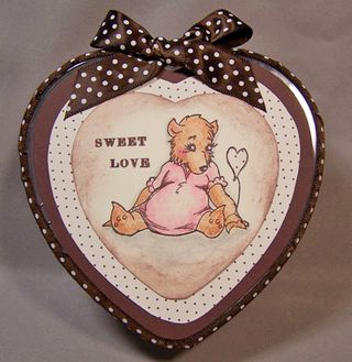 Bear heart tin