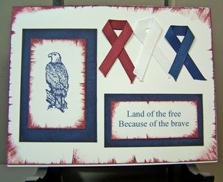 Land of the free eagle