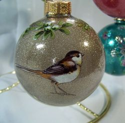 Bird ornament 1