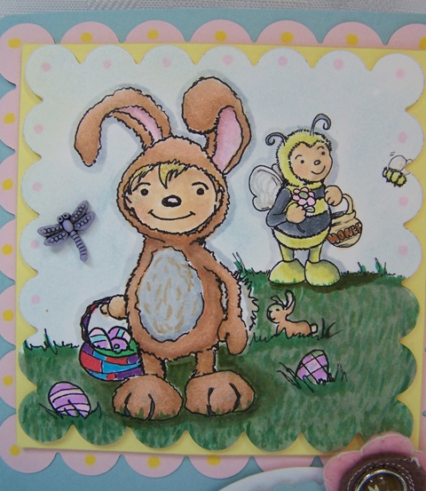 DSO Bunny and bee CU