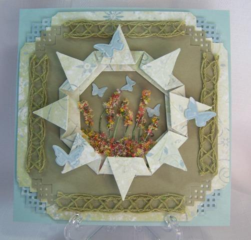 MCC origami frame