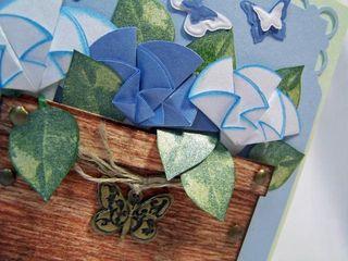 MCC origami flower pot CU