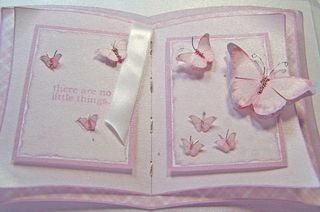 White gold butterfly book bottom up CU
