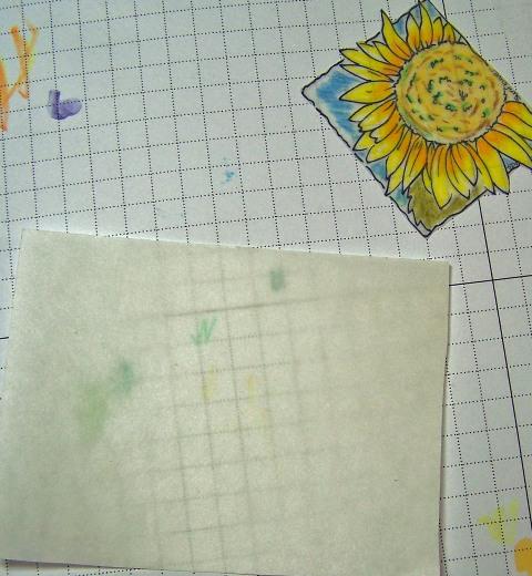 Sunflower window ornament step 3